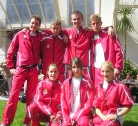 Junior England team