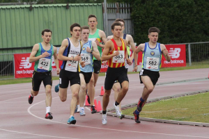 leading my heat at the National Championships