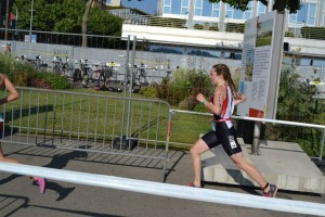 Lauren on the run